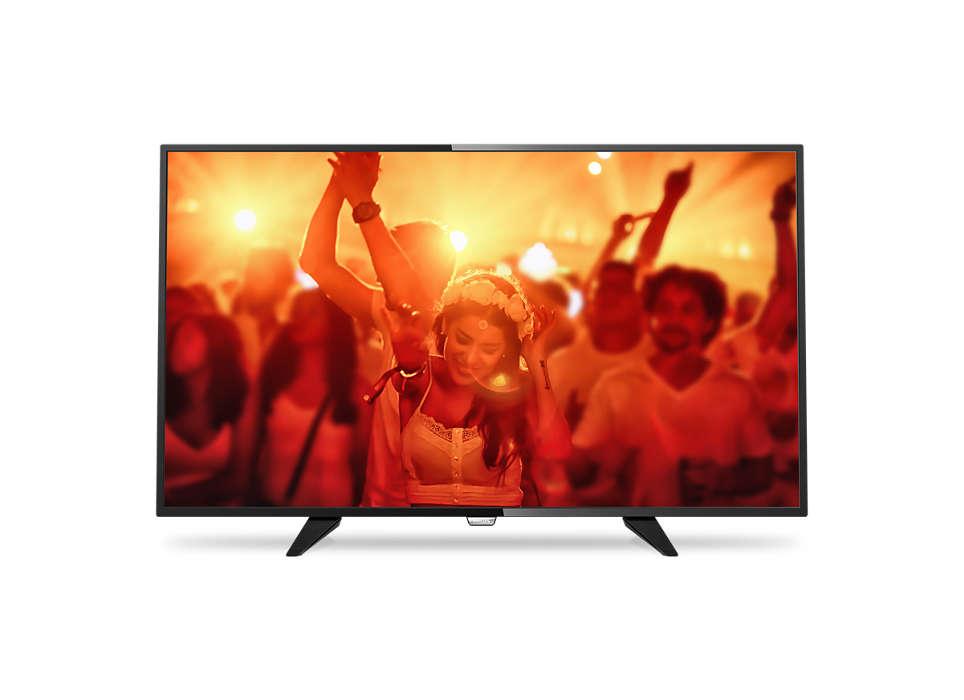LED TV subţire Full HD
