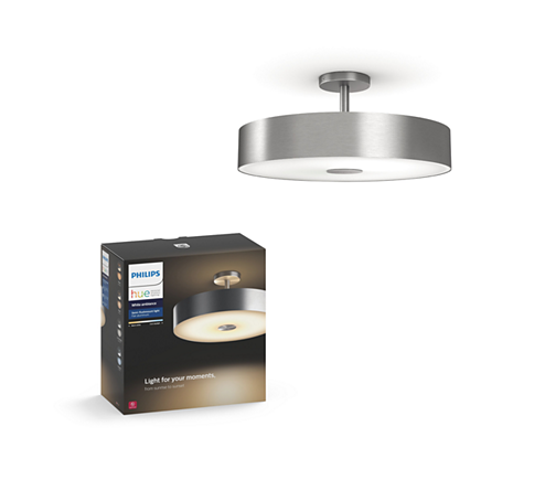 Hue white ambiance fair ceiling light 4100148u7 philips light for your moments mozeypictures Images