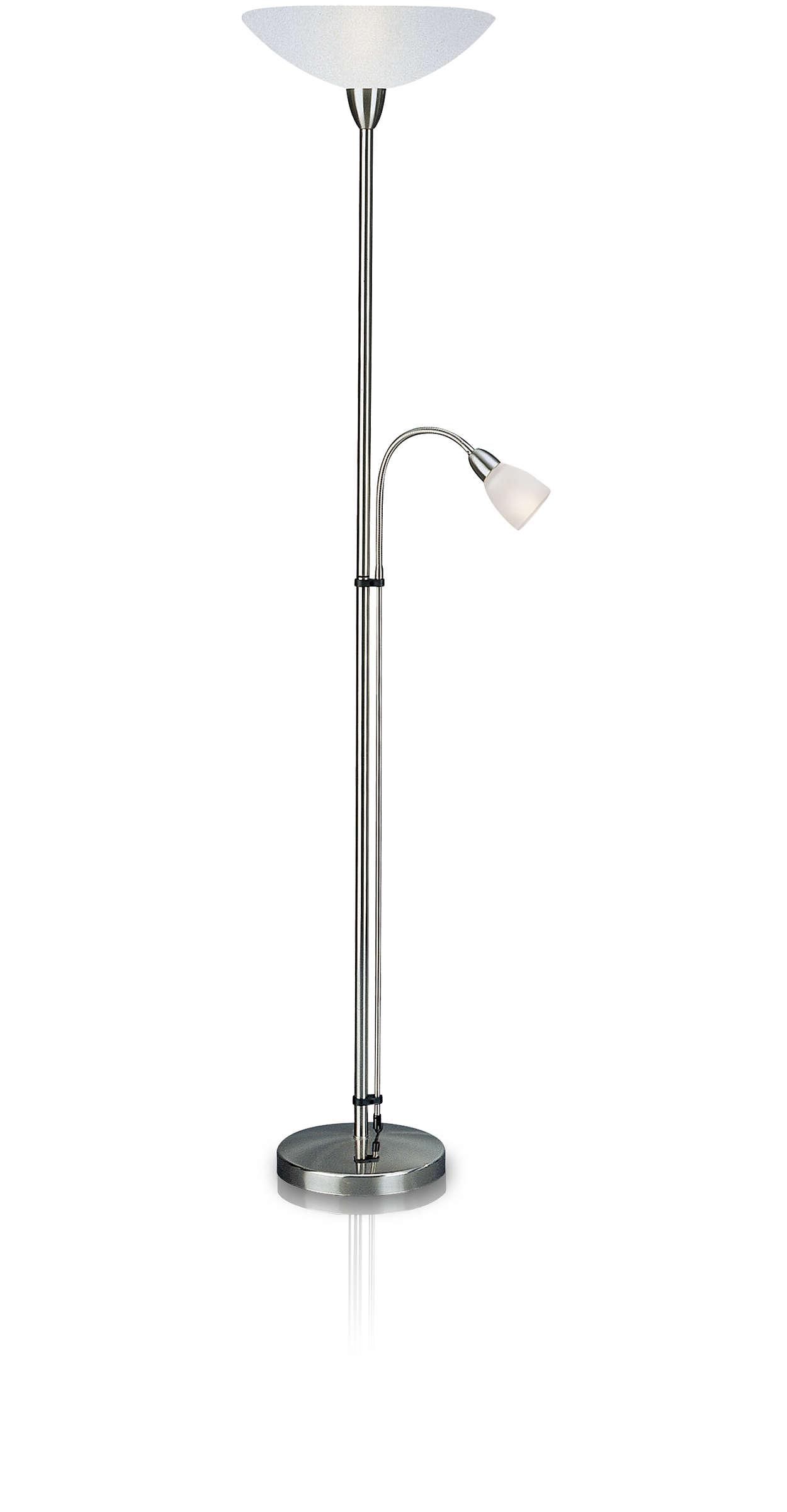 Floor lamp 421901786 philips floor lamp aloadofball Image collections
