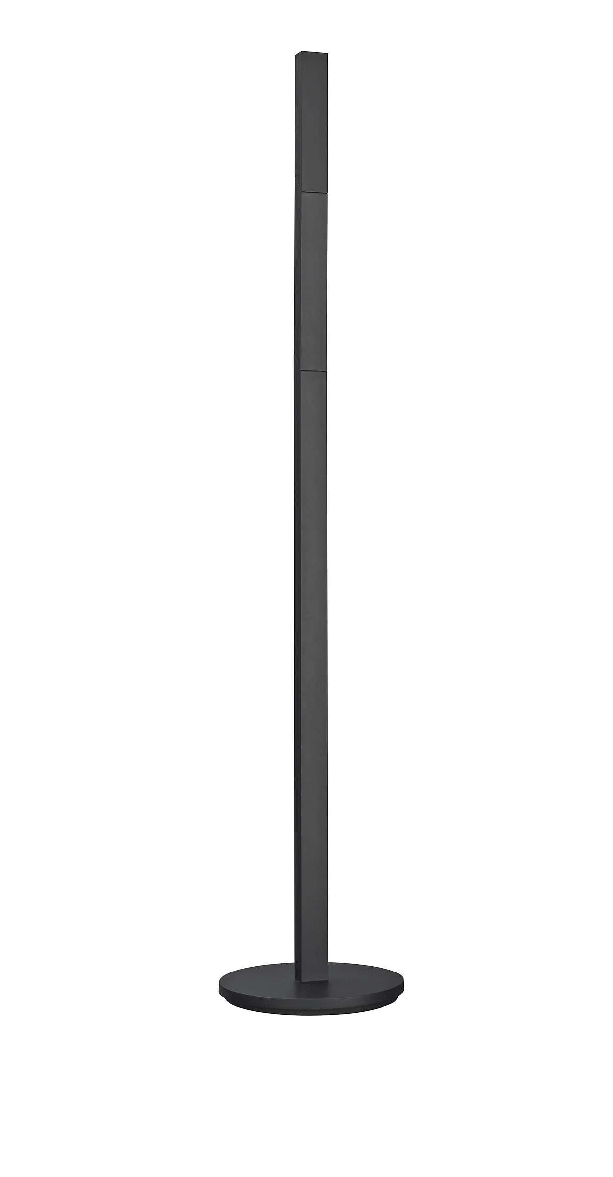 Ein gerader Leuchtenhals mit vielen Möglichkeiten