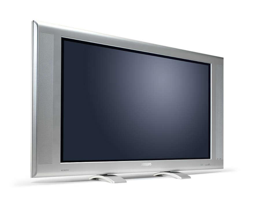 Superior widescreen picture in a stylish design