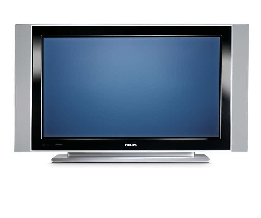 Integrated Flat Plasma HDTV for entertainment