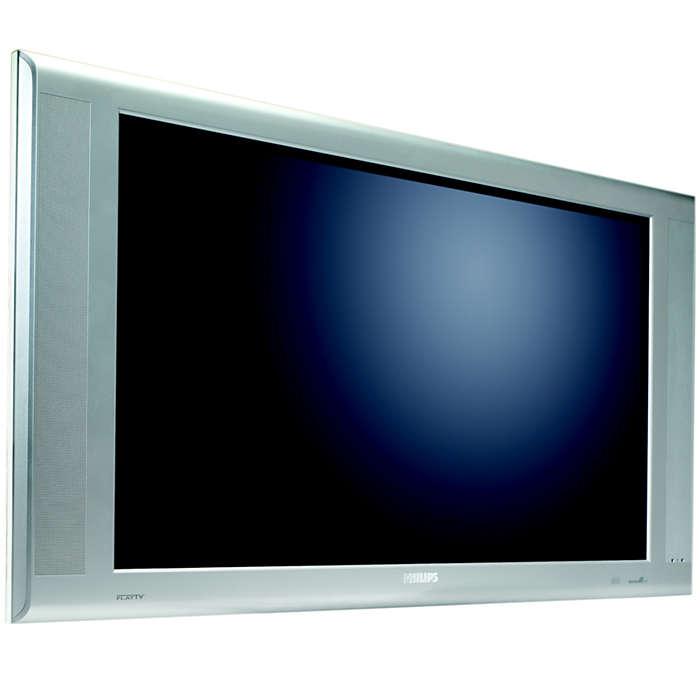 Systemklargjort flat-TV