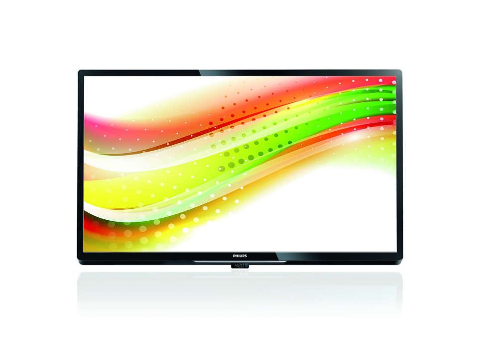 Le téléviseur idéal pour une utilisation interactive ou avancée