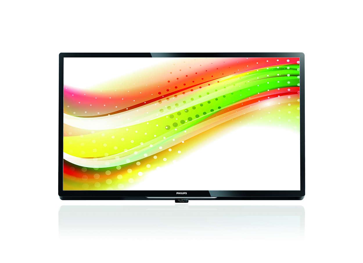 Etkileşimli kullanım ve üstün özellikler aynı TV'de