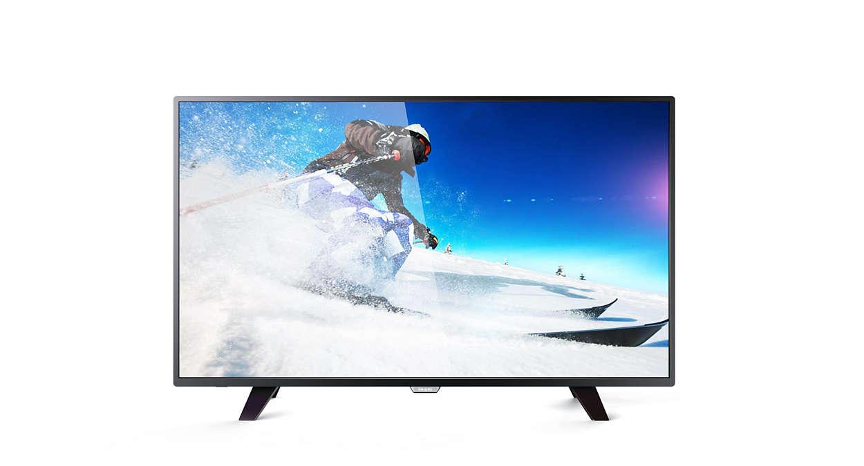 eb3dd8ee58b Televisor LED Full HD delgado. Imágenes. Descargar imagen 0   1