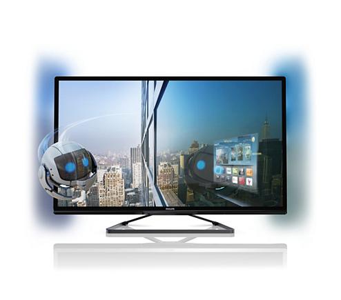 c63b83a57dd3a Televisor Smart LED 3D ultradelgado 42PFL5008G 77
