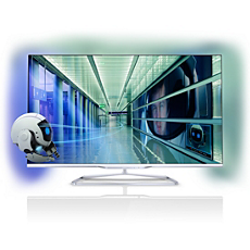 42PFL7108K/12  Ultraflacher 3D Smart LED TV