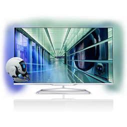 7000 series Téléviseur LED SmartTV ultra-plat 3D