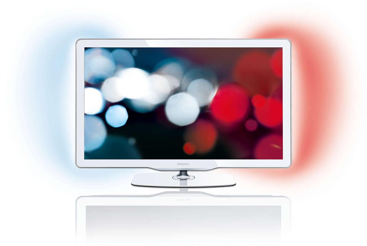Создайте дизайн светодиодного ТВ