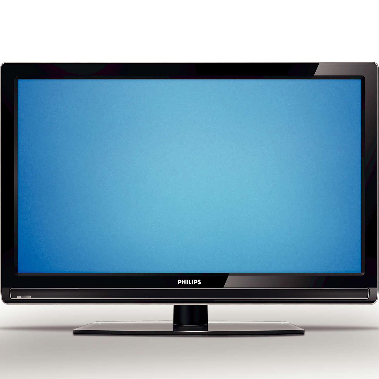 Märgatavalt õhem teler. Silmanähtavalt selgem pilt.