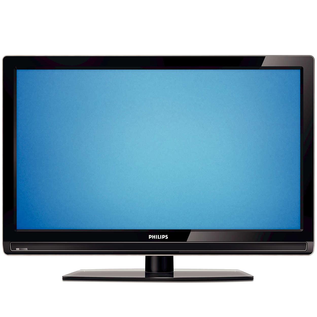 Zo slank en helder zag u onze TV's nog nooit.