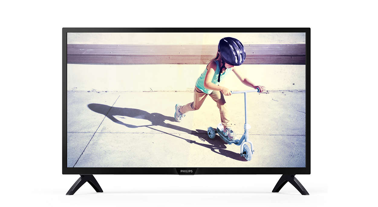 Niezwykle smukły telewizor LED Full HD
