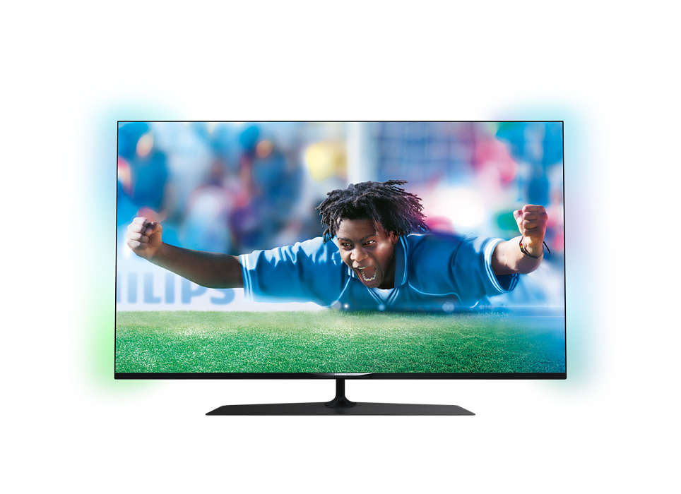 Ultratunn, smart LED-TV med 4K Ultra HD