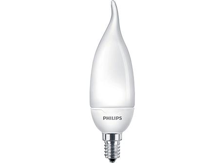 Candle BentTip 8W WW E14 220-240V 1PF/6
