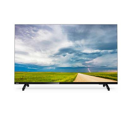全高清纤薄 LED 电视