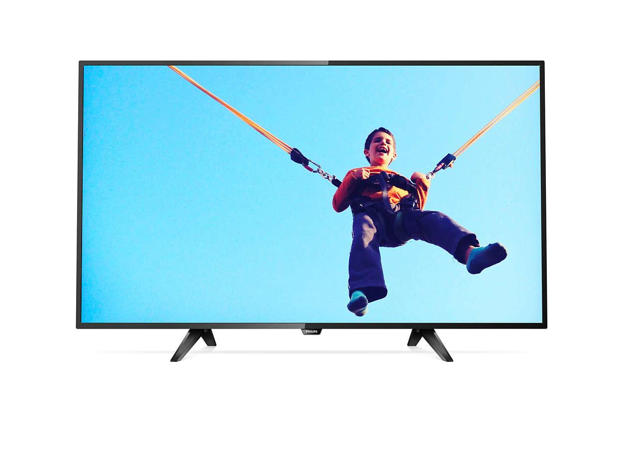 Niezwykle smukły telewizor LED Smart