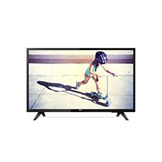 43PFT4233/56  تلفزيون LED رفيع جدًا بدقة Full HD