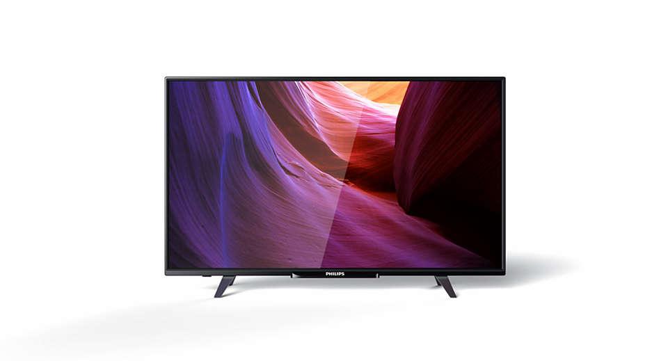دقة Full HD، تلفزيون LED رفيع