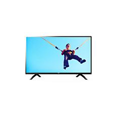 43PFT5853/56  شاشة رفيعة جدًا، Full HD، تلفزيون LED، Smart TV
