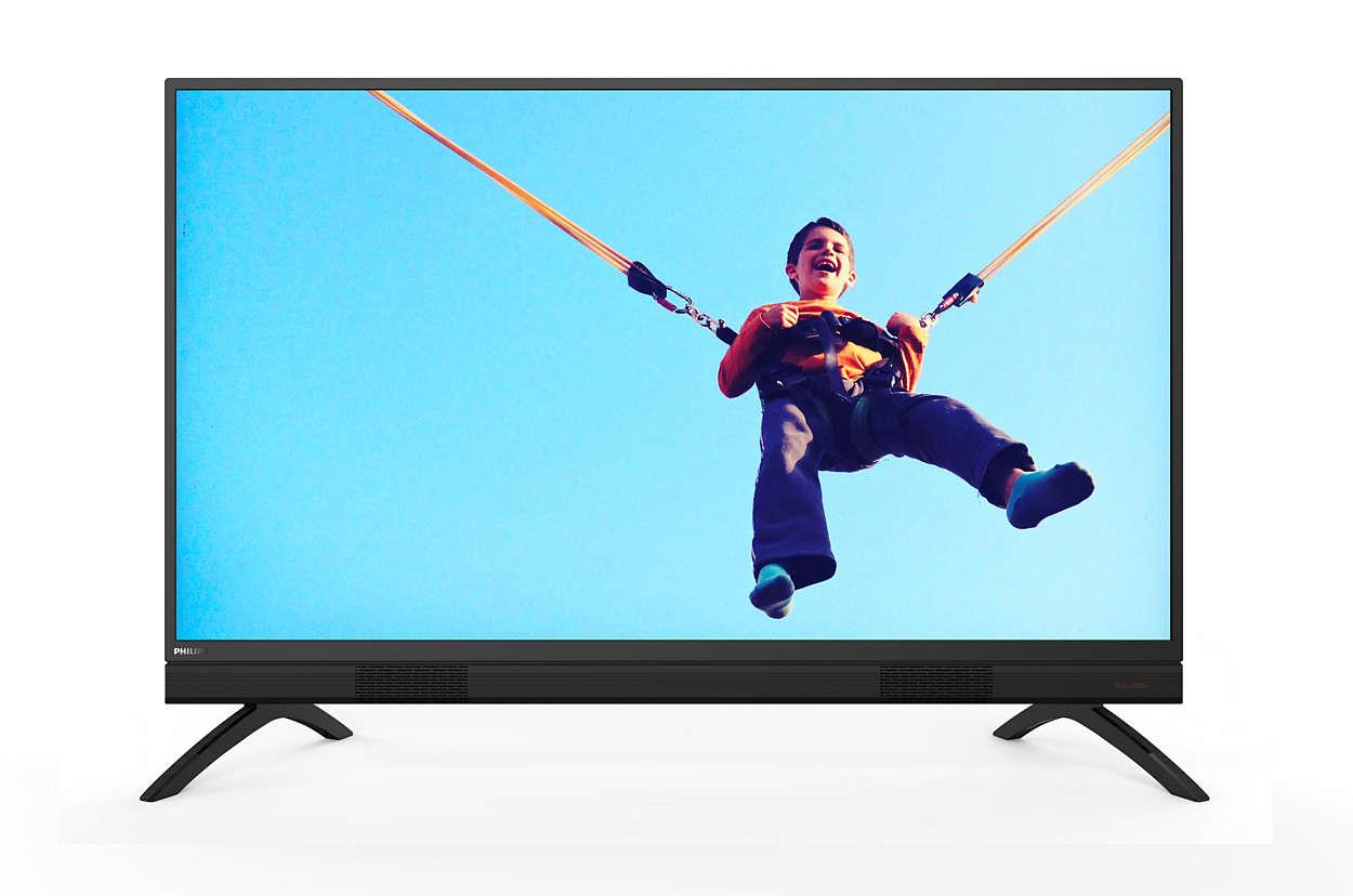 Smart LED TV دقة Full HD