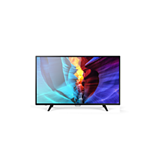 43PFT6100S/56  دقة Full HD، تلفزيون LED رفيع