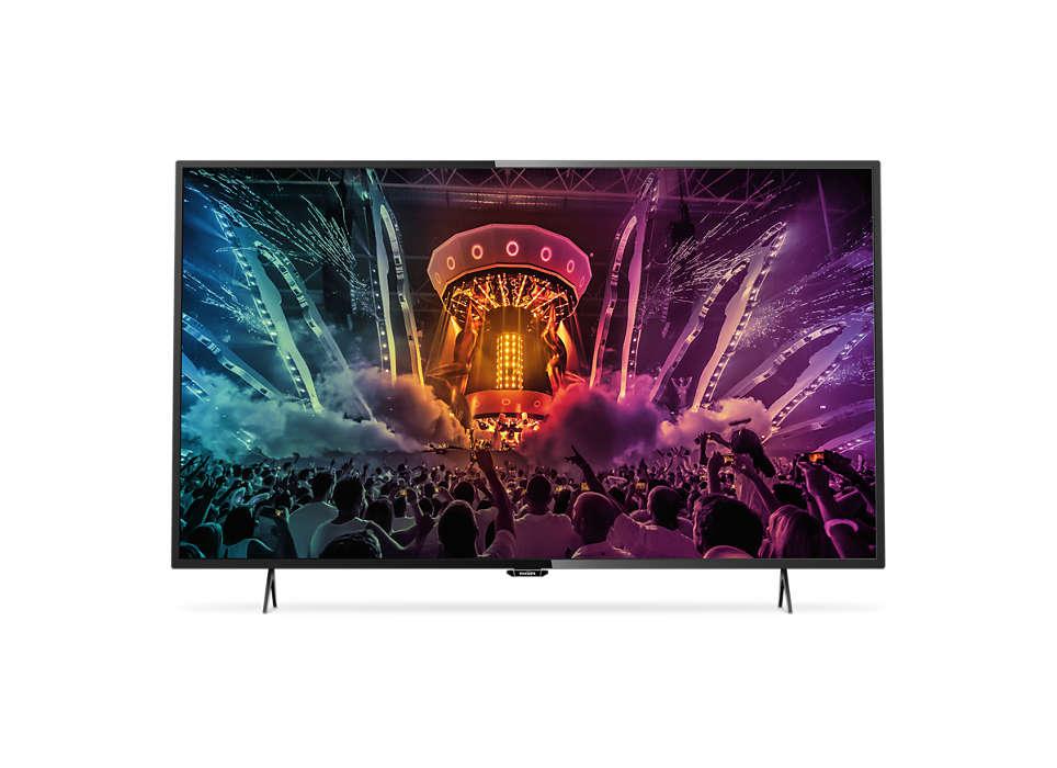"Itin plonas 4K ""Smart TV"" LED televizorius"