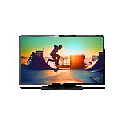6000 series Ультратонкий світлодіодний телевізор 4K Smart TV
