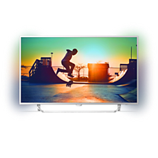 43PUS6412/12  Ultraflacher 4K-Fernseher powered by Android TV™