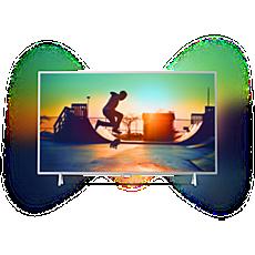 43PUS6432/12  Erittäin ohut 4K-televisio ja Android TV