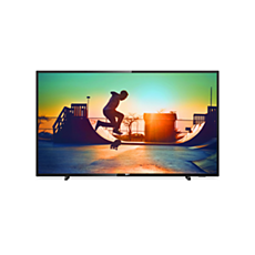 43PUS6503/60  Ультратонкий светодиодный телевизор 4K Smart LED TV