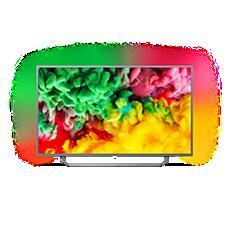 43PUS6753/12  Ultraflacher 4K-UHD-LED-Smart TV