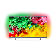 43PUS6753/12 -    Ultra Slim 4K UHD LED Smart TV