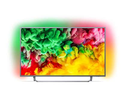 Smart TV 4K LED Ultra HD ultraplano