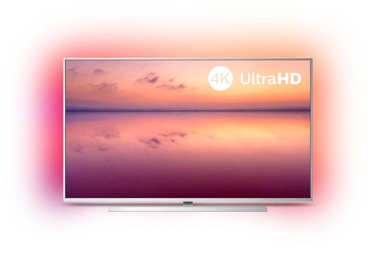 Philips 2019: Die 6804/6814 UHD TVs mit Saphi, HDR und Alexa built-in