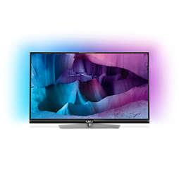 7000 series Televisor 4K UHD ultra fino com Android™