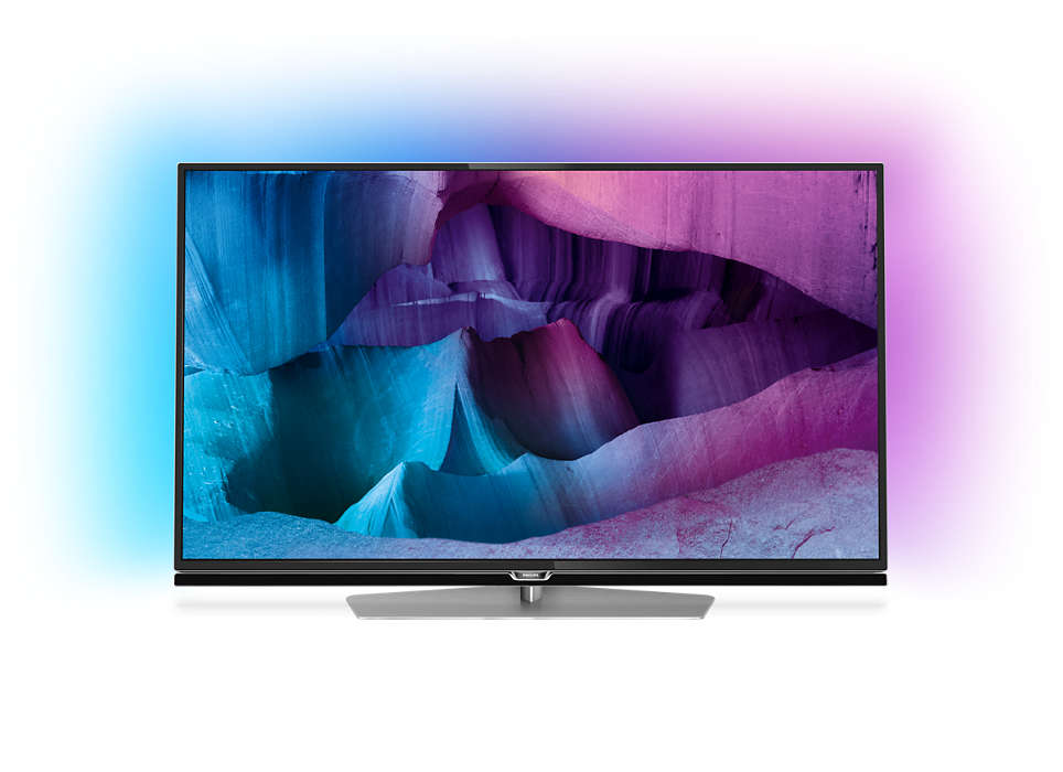 Ультратонкий светодиодный 4K UHD LED TV на базе ОС Android