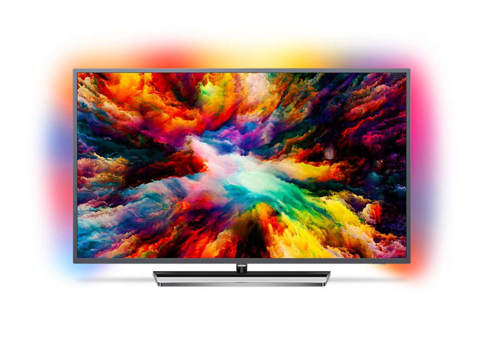 Ултратънък 4K UHD LED Android TV