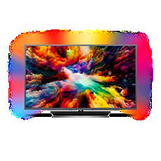 43PUS7393/12  Ultraflacher 4K UHD-LED-Android-Fernseher