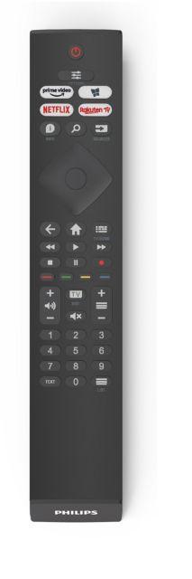 Philips TV 2021: PUS7506/PUS7556 UHD-Serie - Fernbedienung