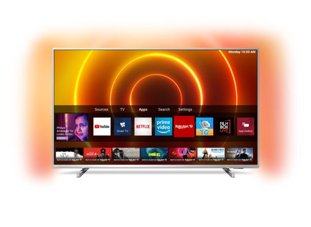 Philips 2020: 8105 UHD TVs