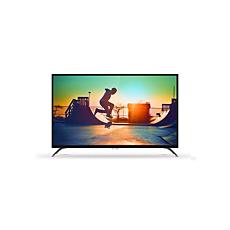 43PUT6002/56  دقة 4K، شاشة رفيعة جدًا، Smart LED TV