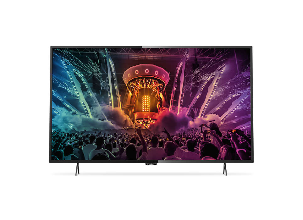 Svært slank 4K Smart LED-TV
