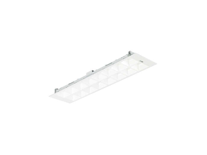 PowerBalance gen2 RC460B/RC461B recessed LED luminaire with ActiLume (visible profile ceiling version)