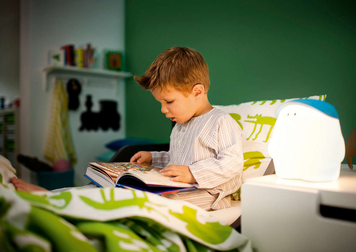 Table lamp 445023386 philips mybuddy tells your child when its time to aloadofball Image collections