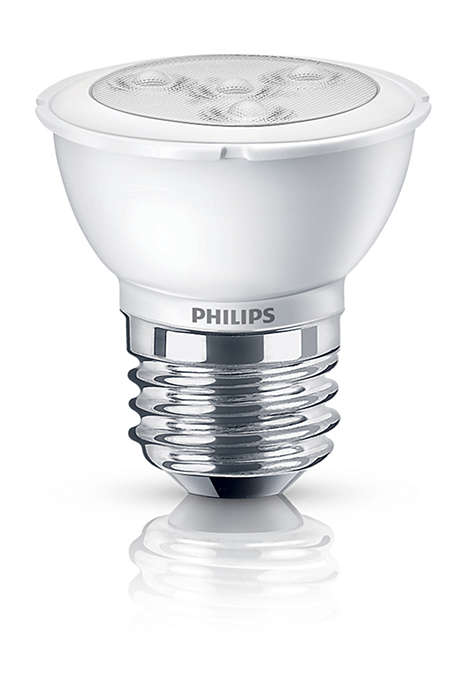 Experience dimmable, bright white LED light
