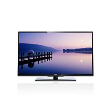 46PFL3108K/12  Ultraflacher Full-HD LED-Fernseher