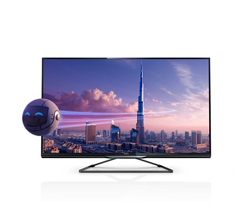 ultraflacher 3d smart led fernseher 46pfl4908k 12 philips. Black Bedroom Furniture Sets. Home Design Ideas