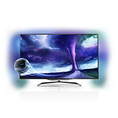 46PFL8008S/12  Ultraflacher Smart LED TV