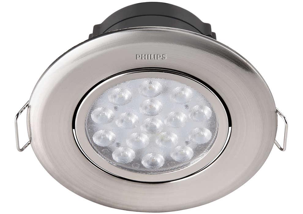 Aydınlık bir ev için Essential aydınlatma